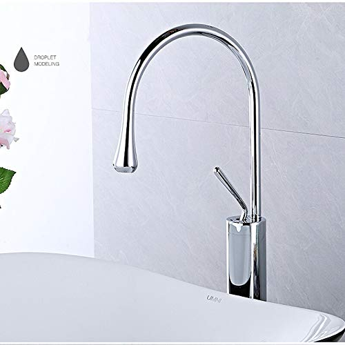 No brand WZXtaps keukenkraan badkraan-mod-bassin-kraan zwart bestek basin-mengkraan keuken badkamerkraan eengreepskraan zwart wastafelmengkraan maximale duurzaamheid Tap