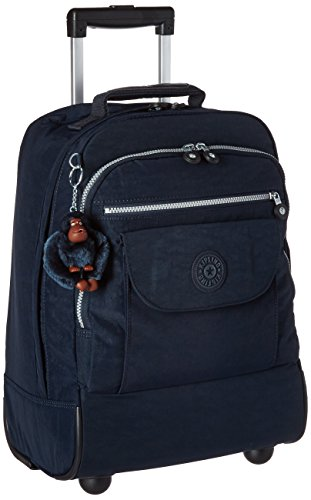 Kipling Luggage Sanaa Wheeled Backpack, True Blue, One Size