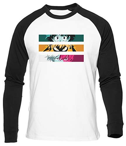 Más Ultra Camiseta De Béisbol Hombre Mujer Unisex Blanca Algodon Organico Baseball T-Shirt Men's Women's White