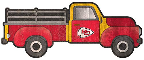 Fan Creations NFL Kansas City Chiefs Unisex Kansas City Chiefs 15in Truck Cutout, Team Color, 15 inch