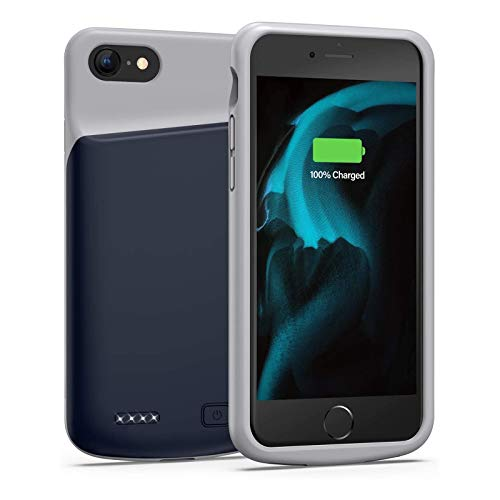 Battery Case for iPhone 6 6s, 3200mAh Portable Protective Charging Case Extended Rechargeable Battery Pack for 4.7 Inch iPhone 6 6s (Blue)