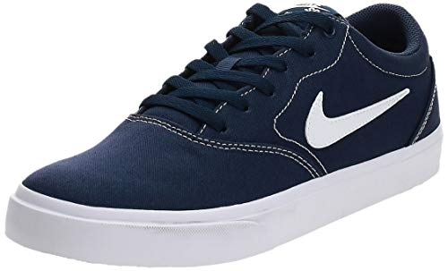 Nike SB Charge Canvas, Zapatillas de Skateboarding Unisex Adulto, Multicolor (Midnight Navy/White/Midnight Navy/Black 402), 43 EU
