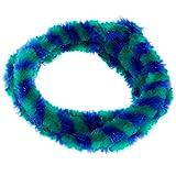 SET Nabenputzringe WÜMA grün/blau, vorn und hinten, 560mm