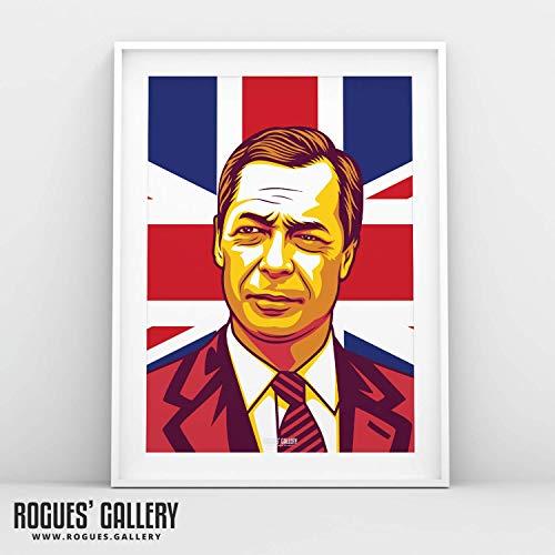 Rogues' Gallery Katalyst Nigel Farage, A3