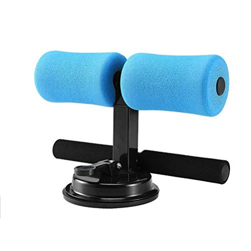 Buikspier sporter, draagbare derde versnelling verstelbare Self-priming Situp Bar, Shaping Sexy Vest Line Line Mermaid Sit-ups Assistant Device (Color : Blue)