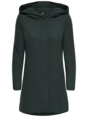 ONLY Damen Mantel Jacke onlSEDONA Light Coat Parka Übergang Herbst (L, grün (Green Gables))