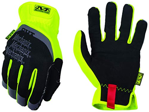 Mechanix Wear - Hi-Viz FastFit Cut Resistant E5 Gloves (Medium, Fluorescent Yellow)