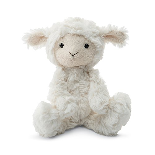 Jellycat Squiggle Lamb Stuffed Animal, Small, 9 inches