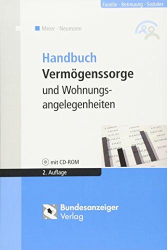 Preisvergleich Produktbild Handbuch Vermögenssorge und Wohnungsangelegenheiten