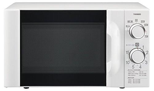 ツインバード 電子レンジ50Hz専用 ホワイト DR-D419W5