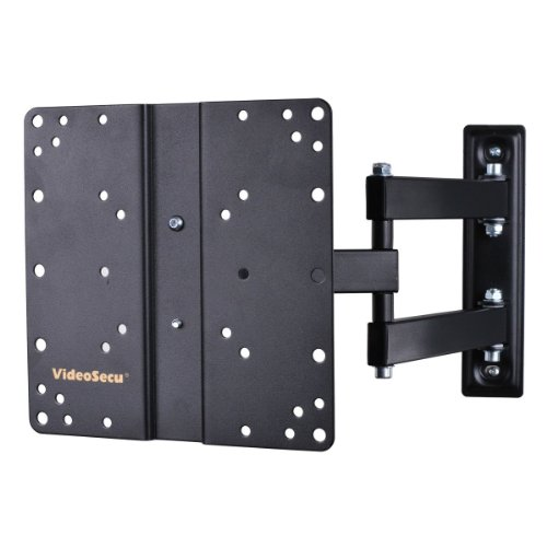 "VideoSecu Swing Arm Full Motion TV Wall Mount for Magnavox 26"" 32"" 26ME402V 32MV402X 32ME402V 32ME402V/F7 32MF301B Flat Panel Display ML510B B65"