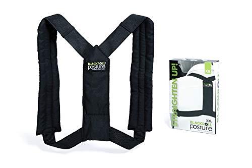 Blackroll Haltungstrainer-schwarz-Designed by Swedish Selbstmassagetools, Posture Standard, Schwarz, S/M/L Unisex (Etikette Einheitsgröße)