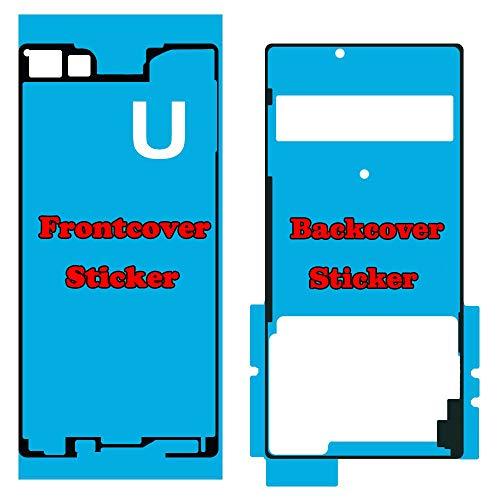 Flügel für Sony Xperia Z4 Z3 Plus Z3+ E6553 E6533 Front + Rückseite Backcover doppelseitiger Kleber, Klebefolie Adhesive für Display und Rückseite