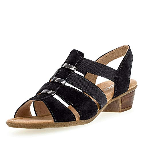 Gabor Shoes Damen Comfort Sport Riemchensandalen, Blau (Pazifik 26), 38 EU