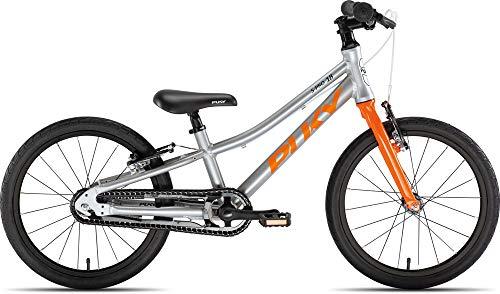 Puky LS Pro 18-1 Alu Kinder Fahrrad silberfarben/orange