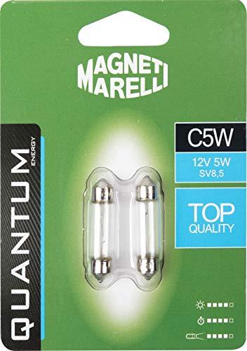 MAGNETI MARELLI 070.00000000009502 P21W Lampadina Singola per Auto LED 33SMD 12V Attacco BA15s