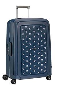 Samsonite S'Cure Disney - Maleta de equipaje, M (69 cm - 79 L), Azul (Mickey Summer Navy)