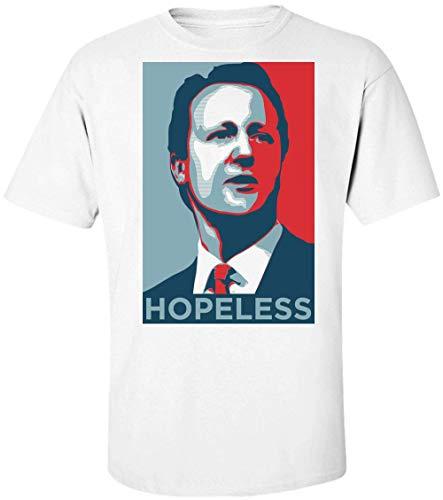David Cameron Hopeless Brexit Poster Herren T-Shirt Large