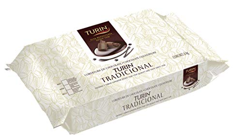 Turin Chocolate Semiamargo Cobertura - 1 Kg