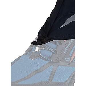 Altra Trail Gaiter Protective Shoe Covers, Black/Gray, Small / Medium