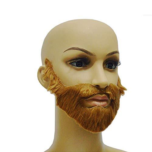 Suministros de Halloween día festivo bola de barba falso divertido barba para hombres barba estilo exterior barba elegante y popular