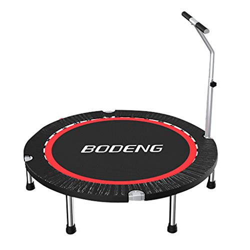 Mini-Übung Fitness-Trampolin für Erwachsene Bungee - Indoor Outdoor-Garten-Rebounder mit verstellbarem Griff für Senioren-Kinderkind