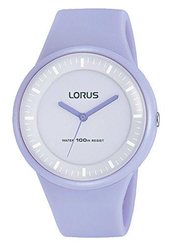 Lorus Reloj Analogico para Mujer de Cuarzo con Correa en Silicona RRX23FX9