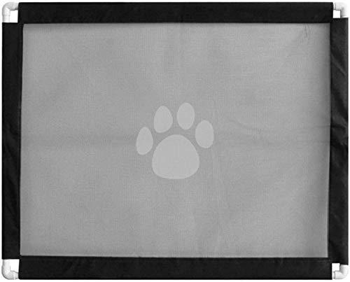 ZLYY Barrera de seguridad para perros, rejilla de aislamiento para puerta de mascotas, bebés, no necesita perforarse.