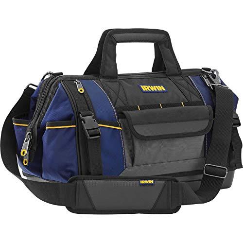 Werkzeugtasche Max mit 25 Taschen und Fächern für die Organisation von Werkzeugen