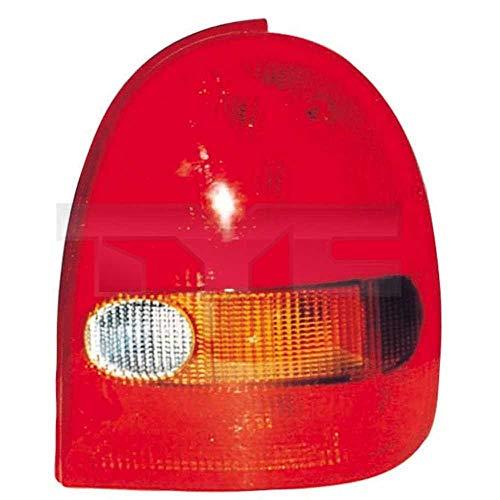 Heckleuchte Rückleuchte Rücklicht links für Modell Corsa B (73/78/79/F35) Baujahr: 03/1993-09/2000 Kunststoff ohne Lampenträger