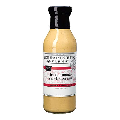 Terrapin Ridge Farms Bacon Tomato Ranch Dressing 12 FL OZ (Pack of 1)