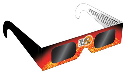 Rainbow Symphony Eclipse Glasses - Safe Solar Viewers - Eclipse Shades, Package of 25 - Made in The USA