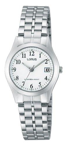 Lorus RH767AX9–Orologio da donna, cinturino in acciaio inox colore...