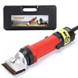 TAKEKIT Horse Clippers Professional Electric Animal Grooming Kit