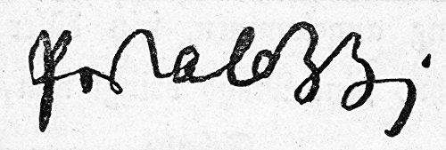 Preisvergleich Produktbild The Poster Corp Johann Pestalozzi / N(1746-1827). Swiss Educational Reformer. Autograph Signature. Kunstdruck (60, 96 x 91, 44 cm)