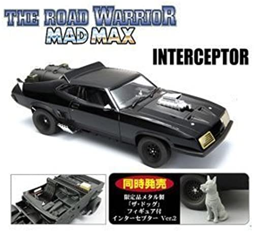 1 24 The Road Warrior Mad Max 2 Interceptor Ver.2 with Dog (Model Car)