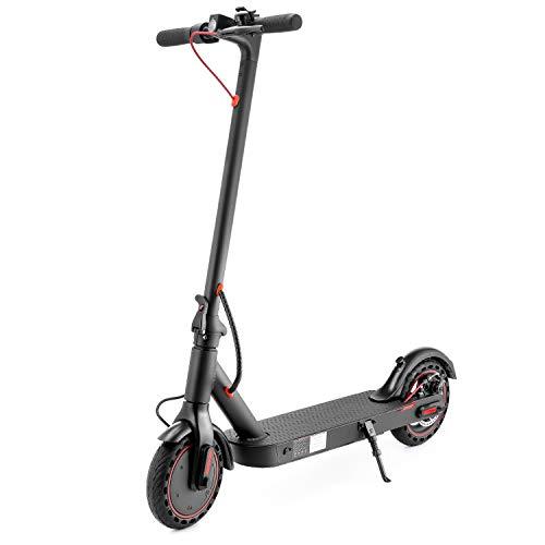 Vapaa Patinete eléctrico plegable para adultos, hasta 25 km/h, carga 120 kg, neumáticos de panal de 8,5 pulgadas, pantalla LED y sistema de freno doble, patinete eléctrico para jóvenes y adultos