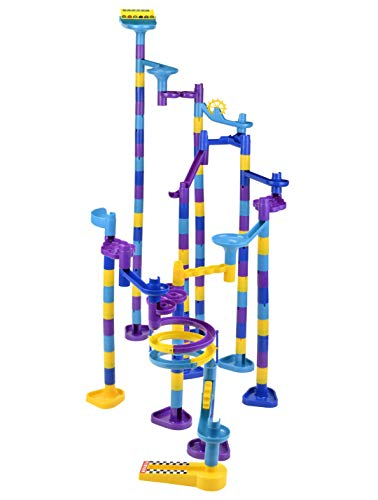 Discovery Toys MARBLEWORKS Marble Run Ultra Deluxe Set | Kid-Powered Learning | STEM Educational Building Block Toy Learning & Childhood Development 5 Years Old and Up