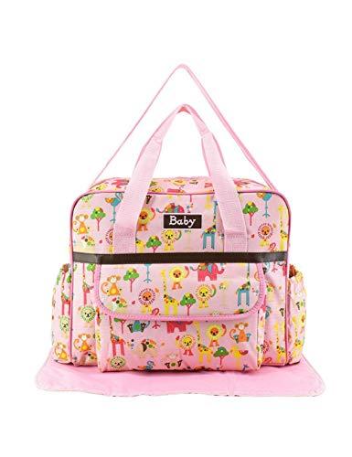 KHBHJ Baby Tasche Für Mama Reise Baby Windel Handtasche wasserdichte Kinderwagen Tasche Organizer Rollstuhl Mutter Baby Infantil, Pink