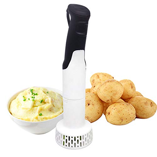 OLDSAN Electric Potato Masher for Kitchen 3-in-1 Set Multi Tool - Blends Hand Blender Purees and Whisks Batter Mixer,for Purees Baby Food/Vegetable Grinder