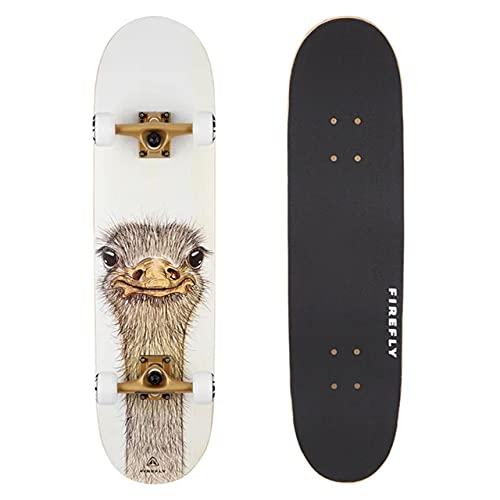 Firefly Skateboard SKB 505 White/BROWNSMOKE/WHI - -