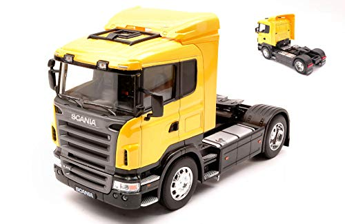 SCANIA R470 YELLOW 1:32 - Welly - Camion - Die Cast - Modellino