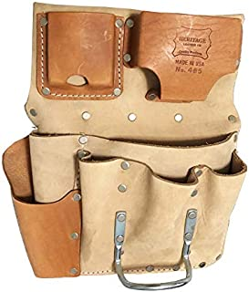 Drywall Tool Pouch 8-Pocket Flat Style