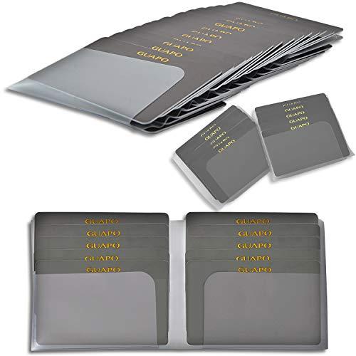 \2種類セットで最大48枚収納/【雑誌掲載 mina 01月号】 カードケース インナーカードケース GUAPO [長財布・二つ折り財布・ミニ財布 すべての財布で使えます] 財布 に入れるタイプ 薄型 カード入れ スリム