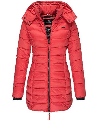 Marikoo Damen Jacke Mantel Steppmantel Übergangsjacke gesteppt 17 Farben XS - XXL ABENDSTERNCHEN