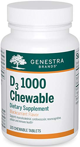 Genestra Brands - D3 1000 Chewable - Vitamin D Supplement -...