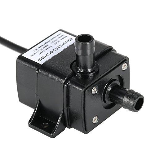 Anself Mini Waßerpumpe Tauchpumpe Pumpe 12 V elektrische Minipumpe für Brunnen Aquarium und Modellbau