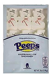 Snowman Marshmallow Peeps