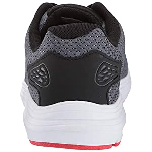 Under Armour Men's Surge 2 Running Shoe, Pitch Gray (100)/White, 9.5