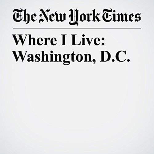 Where I Live: Washington, D.C. copertina